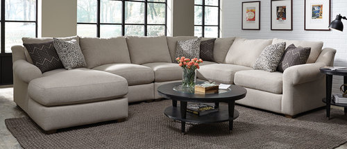 Five Piece Sectional (Left Facing Chaise)