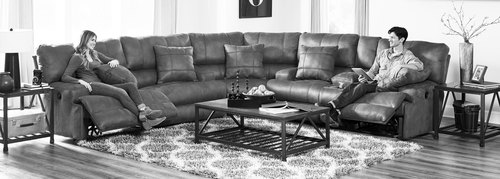 Three Piece Reclining Sectional