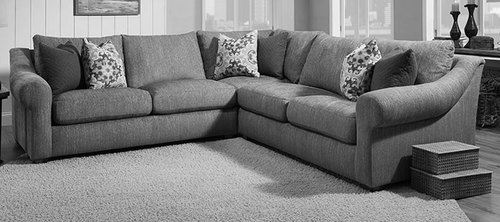 Three Piece Sectional As Shown