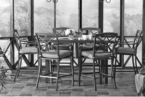 Seven Piece High Dining Room