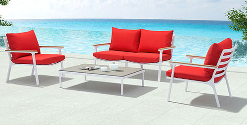 4 Piece Outdoor Living Room Collection