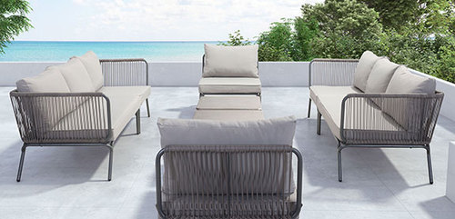 Pier 8 Piece Outdoor Living Room Collection