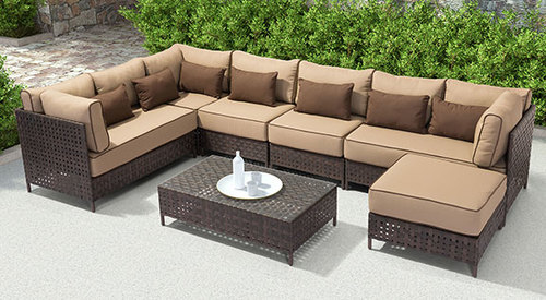 Pinery 7 Piece Outdoor Sectional