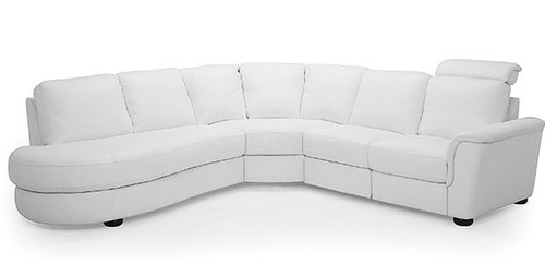 Three Piece Reclining Sectional w/ Bumper