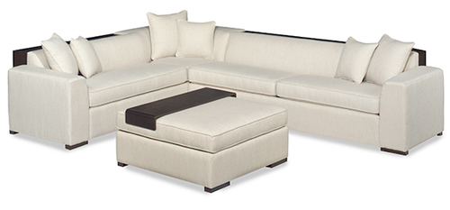 TWO PIECE SECTIONAL (Ottoman Not Included)