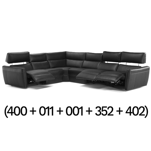 Five Piece Reclining Sectional