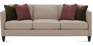 Mitchell N220 Sofa from Rowe Furniture.  Custom Made to Order