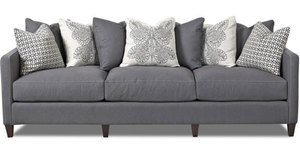 "Jordan 96"" Sofa with Down Filled Cushions... Custom Made to Order"