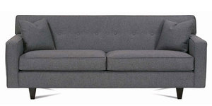 Dorset Button Back Sofa from Rowe Furniture. Choice of Fabrics