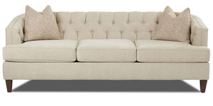 "Kimball 88"" Button Back Sofa"