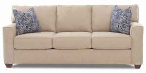 "Hot Buy...Nolan 87"" Sofa with T Back Cushions"