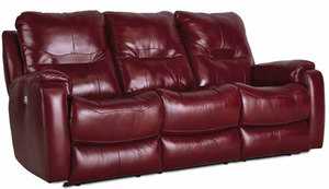 "Royal Flush 82"" Dual Reclining Sofa w/ Power Headrest Option"