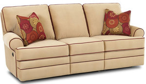 "Belleview 88"" Reclining Sofa w/ Power Option"