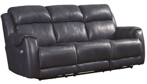 "Safe Bet 89"" Dual Reclining Sofa w/ Power Headrest Option"