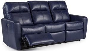 "Cairo 81"" Dual Reclining Palliser Sofa w/ Power Headrest Option"