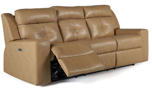 Grove Dual Power Reclining Sofa w/ Power Headrest