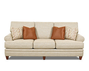 "Gramercy 92"" Transitional Sofa  (Includes Pillows)"
