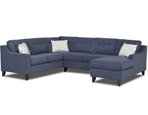 Audrina Stationary Sectional  (Made to order fabrics)...Starting At