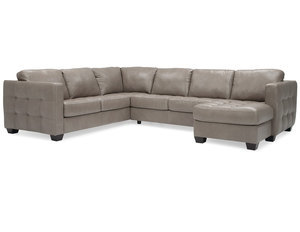 Alula 77427 - 70427 Sectional - 350 Fabrics and Leathers