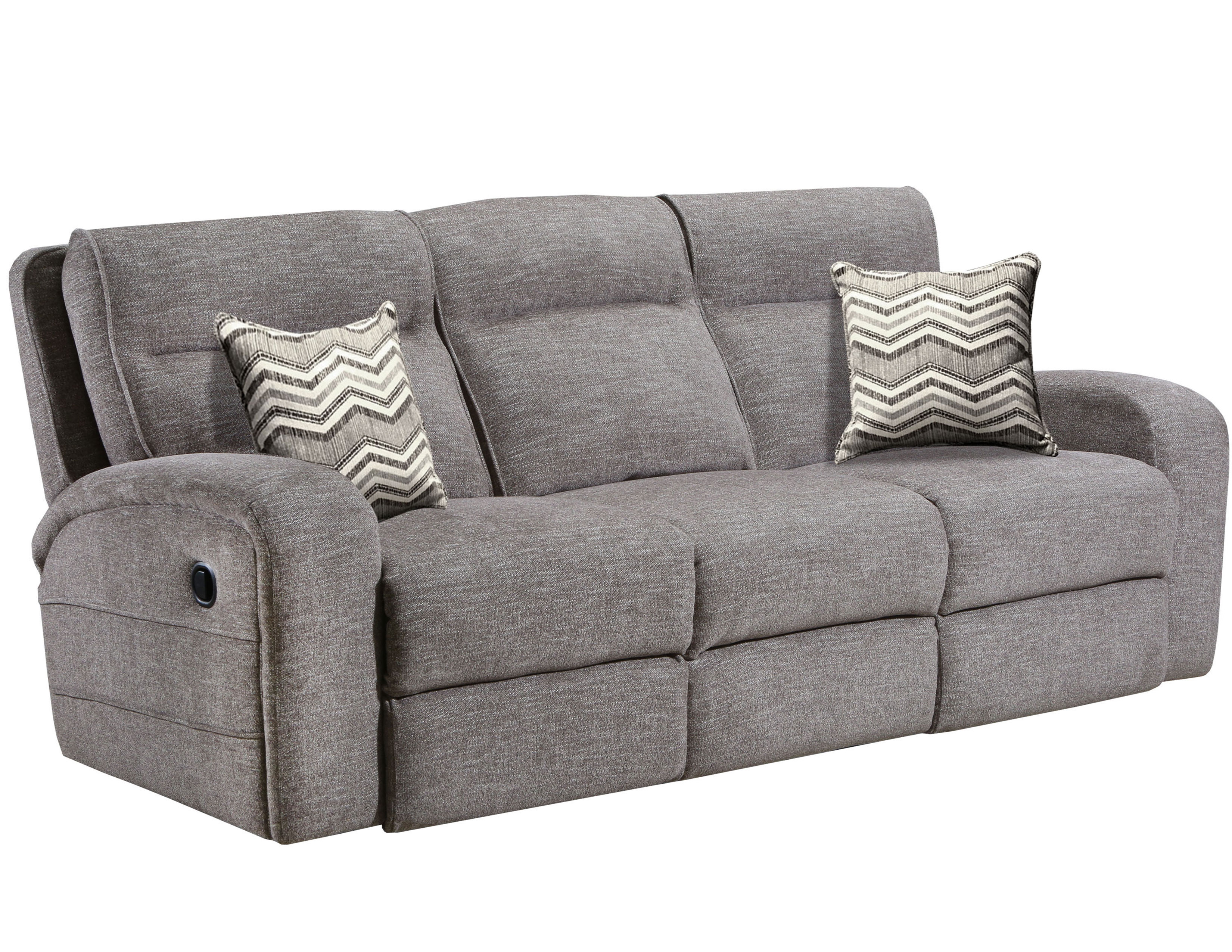 Leeds Double Reclining Sofa In Stone Sofas And Sectionals