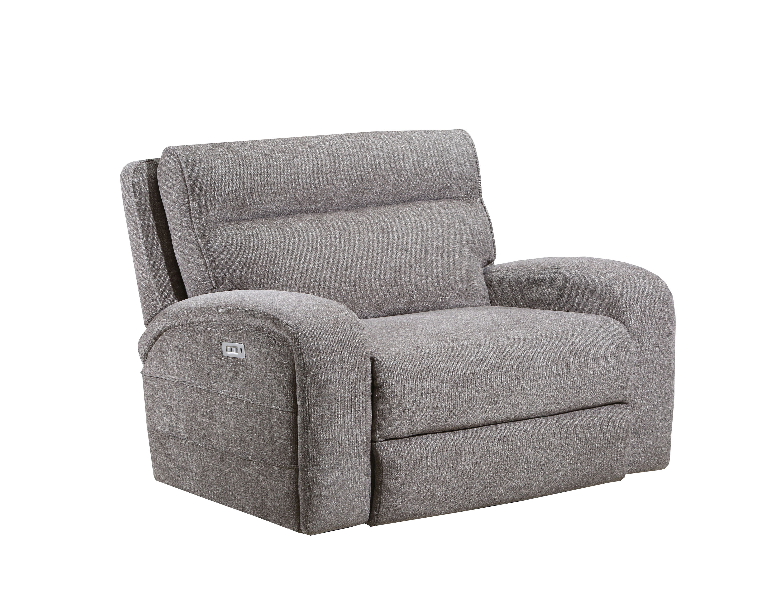 Picture of: Leeds Extra Wide Cuddler Recliner In Stone Sofas And Sectionals