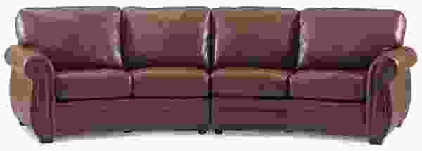 Blanco 77504 - 70504 SLEEPER Sectional - 450 Fabrics and Leathers
