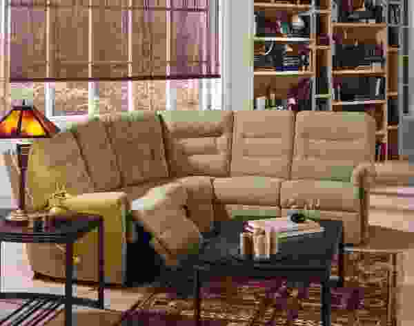 Fiesta 41039 - 46039 Reclining Sectional - 450 Leathers and Fabrics