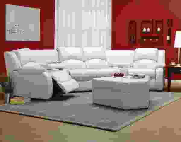 Dane 41066 - 46066 Reclining Sectional - 450 Leathers and Fabrics