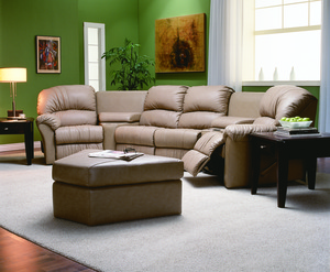callahan reclining sectional 450 leathers and fabrics