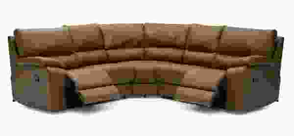 Shields 41077 - 46077 Reclining Sleeper Sectional - 450 Leathers and Fabrics