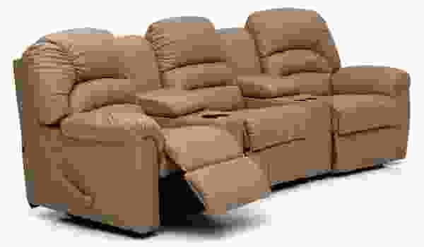 Taurus 41093 - 46093 Reclining Sectional - 450 Leathers and Fabrics