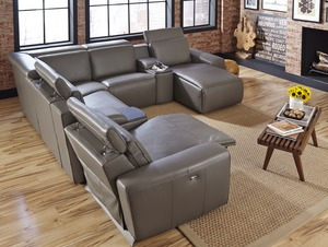 Beaumont 41637 - 46637 Reclining Sectional : large reclining sectional - Sectionals, Sofas & Couches