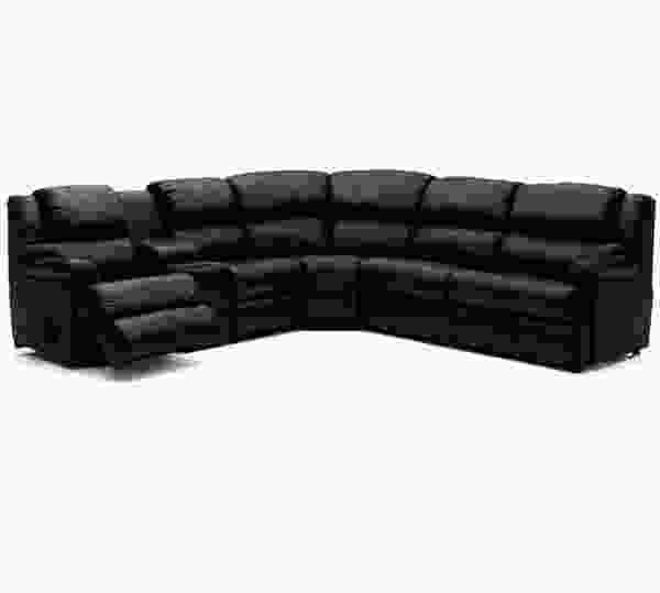Harlow 41110 - 46110 Reclining Sleeper Sectional - 450 Leathers and Fabrics