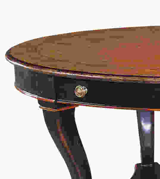 The Antiqued Empire Cocktail Table