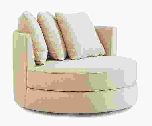 "Sutton Chair w/ Two 16"" Pillows (Same Fabric as Chair)"