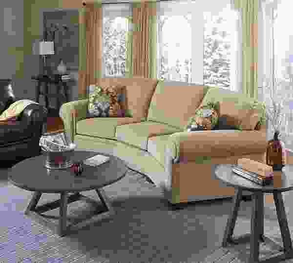 Miller Conversation Sofa     Customize - 350 Fabrics
