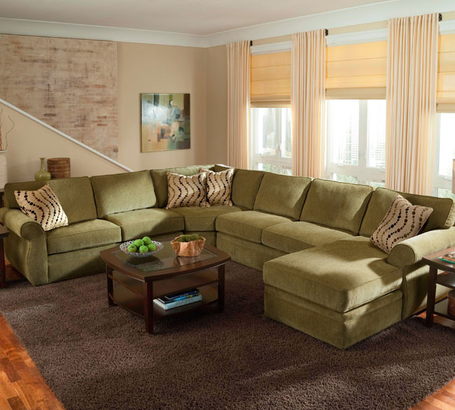 Veronica 6170 Sectional Customize - 350 Fabrics : customize sectional - Sectionals, Sofas & Couches