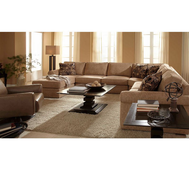 Attractive Veronica 6170 Sectional Customize   350 Fabrics. By Broyhill