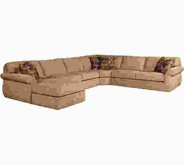 Veronica 6171 Sleeper Sectional      Customize - 350 Fabrics
