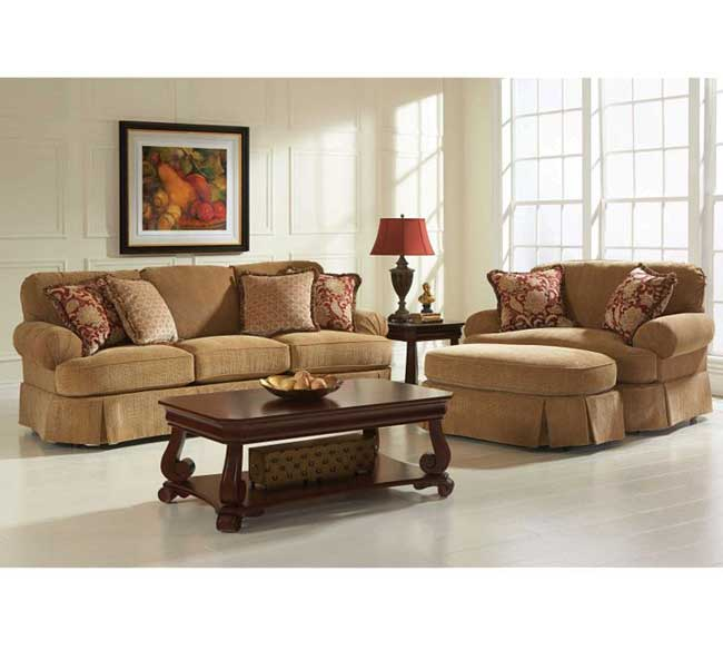 Living Room Sets Broyhill mckinney 6544 sofa collection customzie - | sofas and sectionals
