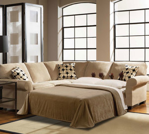 Ethan 6627 Sleeper Sectional Customize - 350 Fabrics. By Broyhill : broyhill sectional sleeper sofa - Sectionals, Sofas & Couches