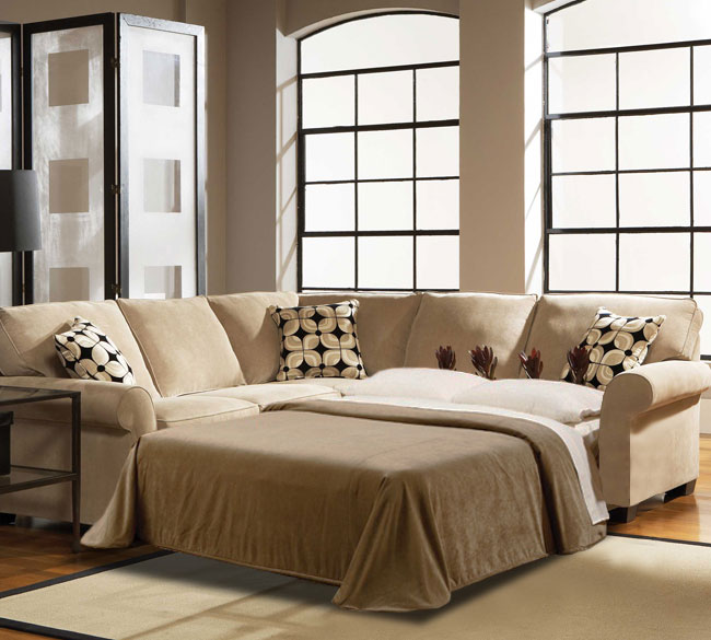 Ethan 6627 Sleeper Sectional Customize - 350 Fabrics : sectionals with sleepers - Sectionals, Sofas & Couches