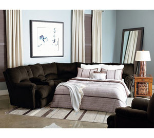 Alpine Reclining Sleeper Sectional 204 : sectional leather sofa bed - Sectionals, Sofas & Couches