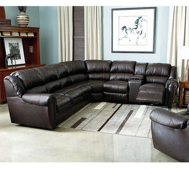 Summerlin Reclining Sectional 214 | Sofas and Sectionals