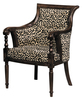 Lena Animal Print Accent Chair 11492 Sofas And Sectionals