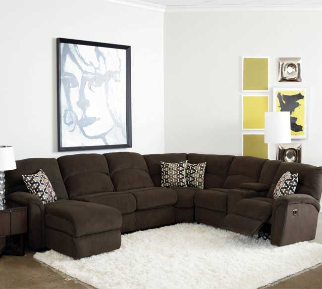Grand Torino Reclining Sectional 230, Lane Furniture Phoenix