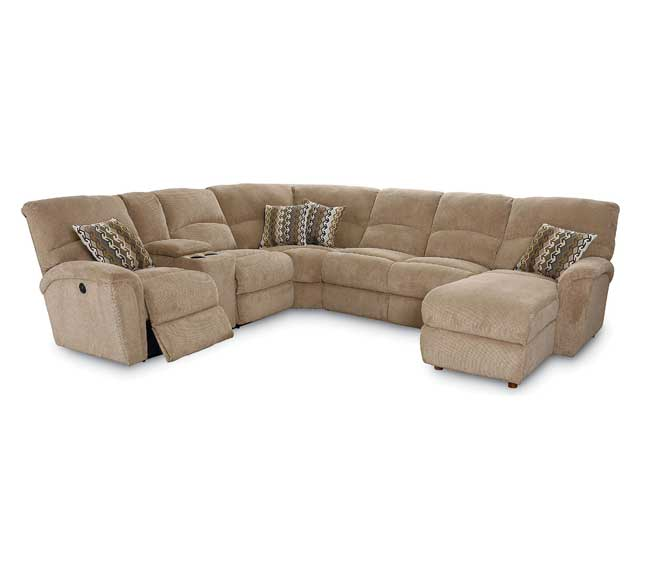 Grand Torino Reclining Sectional   Sofas and Sectionals