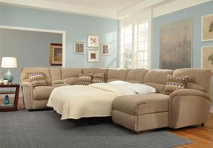 Grand Torino Reclining Sleeper Sectional 230