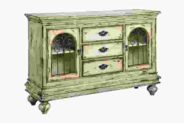 Granby  Two Door, Three Drawer Accent Cabinet
