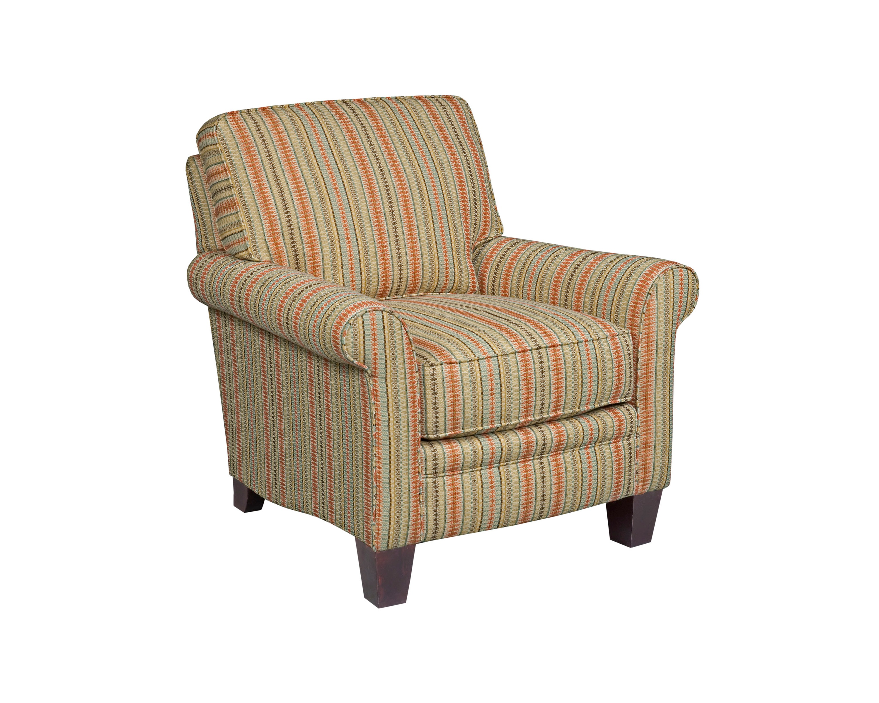 Gina 6966 Chair and Ottoman